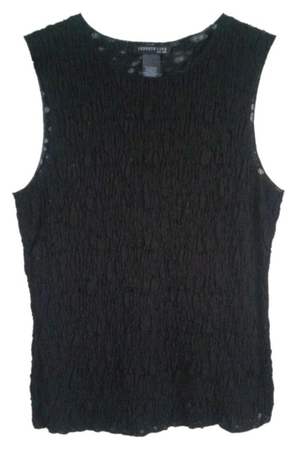 Kenneth Cole Top black sheer