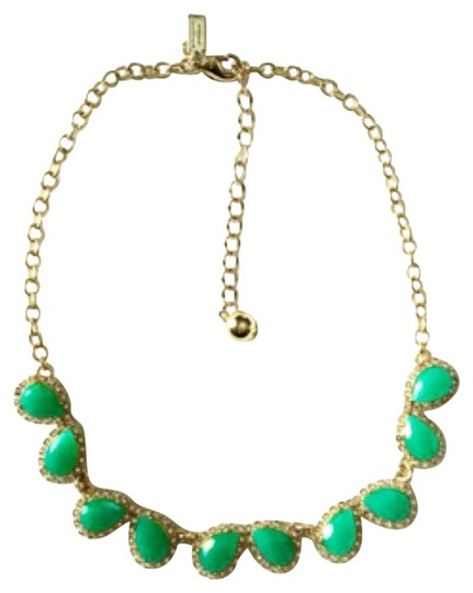 Preload https://item2.tradesy.com/images/kate-spade-green-epoxy-stones-necklace-10429231-0-2.jpg?width=440&height=440