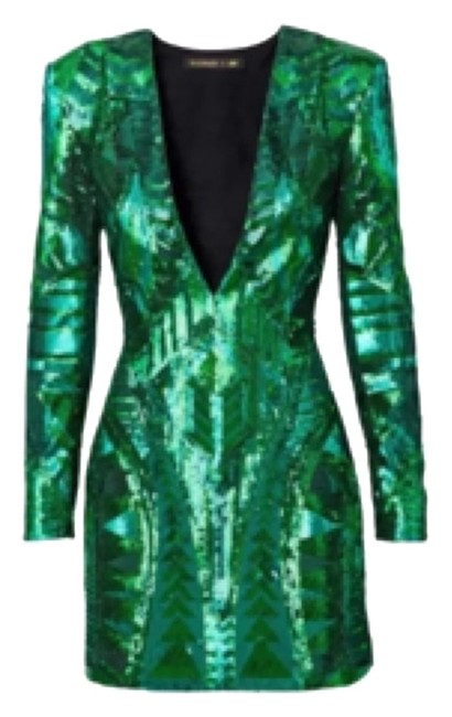 Preload https://item3.tradesy.com/images/balmain-x-h-and-m-green-above-knee-night-out-dress-size-2-xs-10429777-0-1.jpg?width=400&height=650