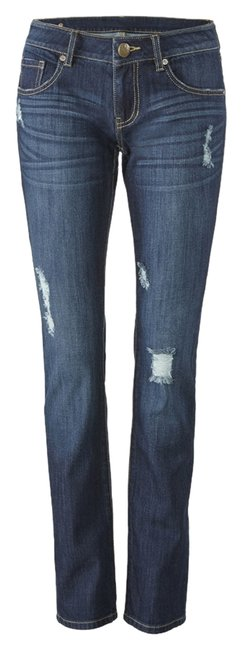 Item - Denim Destruction Slim Pants Size 8 (M, 29, 30)