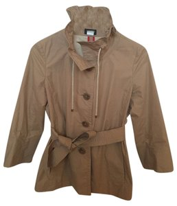 J.Crew Coat Rain Trench Coat Light Khaki Jacket
