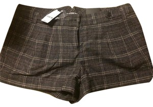 Express Winter Flannel Shorts Plaid