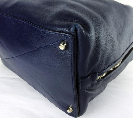 Marc Jacobs Antonia Small Satchel in Pacific blue