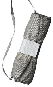 Drap Brass Polyester Silver/Grey Clutch
