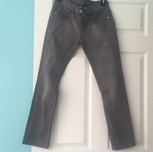Zara Straight Pants Gray