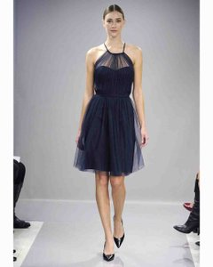 Monique Lhuillier Navy Dress