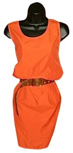 Calvin Klein short dress Orange on Tradesy