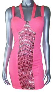 2B bebe Body Bodycon Beaded Dress