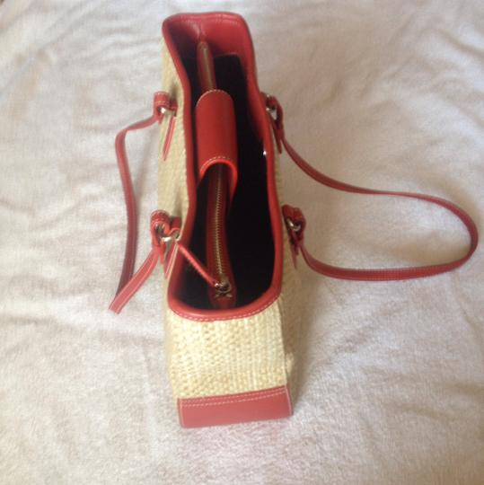 Coach Tote in Red Leather