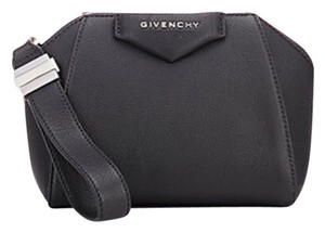 Givenchy Black Goat Leather Antigona