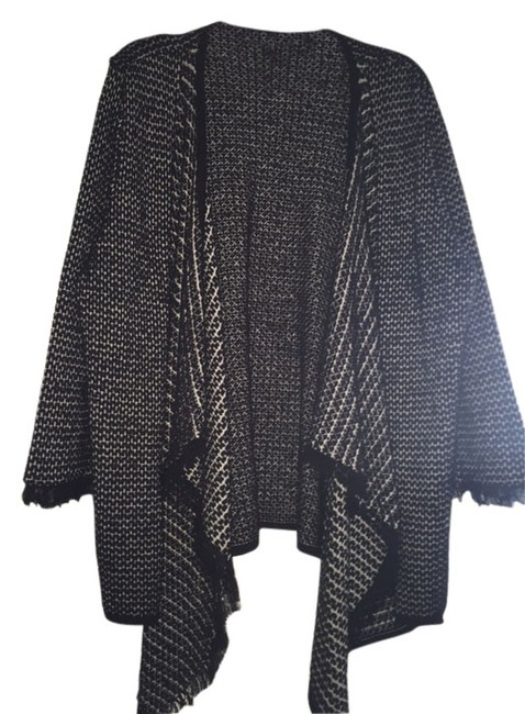 Preload https://item5.tradesy.com/images/roni-rabl-black-and-gray-cardigan-size-os-one-size-10432189-0-1.jpg?width=400&height=650