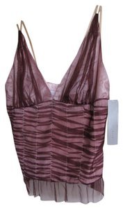 Chaiken Top burgundy