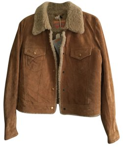 Levi's Made & Crafted Tan Leather Jacket