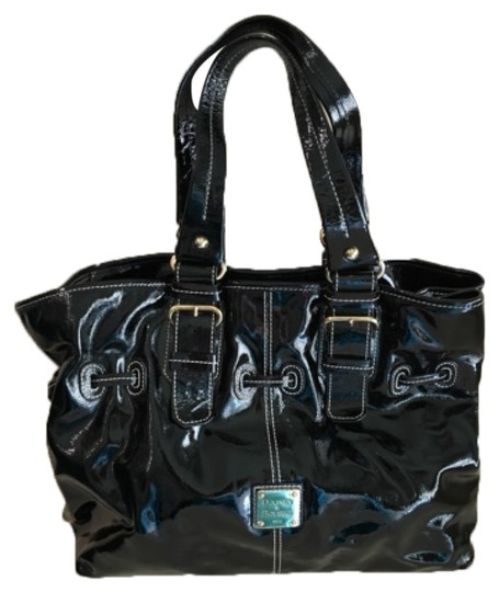 Preload https://item3.tradesy.com/images/dooney-and-bourke-chiara-black-patent-leather-tote-10432702-0-1.jpg?width=440&height=440