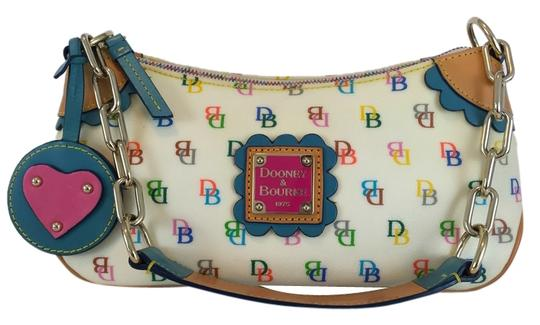 Preload https://item1.tradesy.com/images/dooney-and-bourke-small-multi-color-coated-canvas-baguette-10432795-0-1.jpg?width=440&height=440