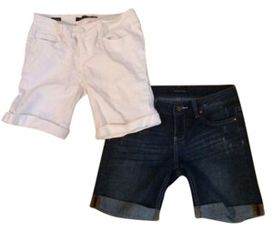 Vigoss Bermuda Shorts Jean and white