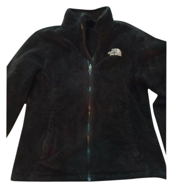 Item - Black Fleece Coat Size 4 (S)