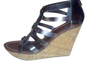 Dolce Vita Metallic Taupe Wedges