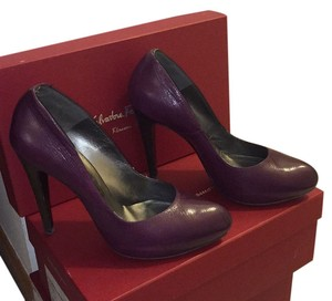 Salvatore Ferragamo Plum Platforms