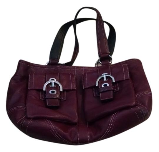Preload https://item1.tradesy.com/images/coach-maroon-leather-satchel-10433980-0-1.jpg?width=440&height=440