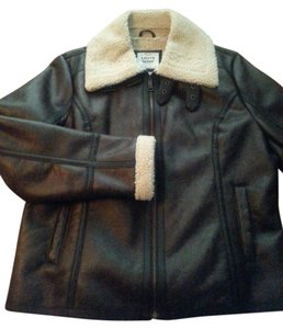 Levi's dark brown Leather Jacket