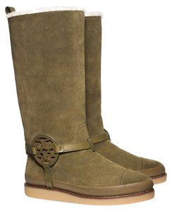 Tory Burch Forest green Boots