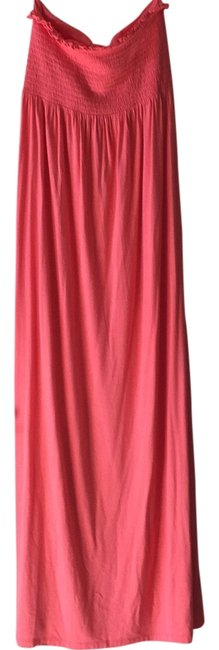 Preload https://item5.tradesy.com/images/juicy-couture-coral-long-casual-maxi-dress-size-8-m-10434544-0-1.jpg?width=400&height=650