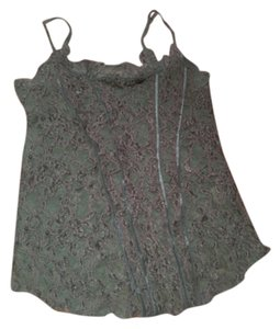 Free People Lace Intimate Intimates Collection Tank Tank Shirt Sexy Style Stylish Lacy Top Blue