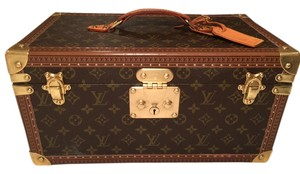 Louis Vuitton Train Case Toiletry Case Monogram Travel Bag