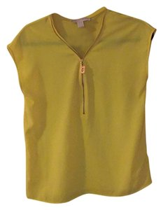Michael Kors Top Yellow