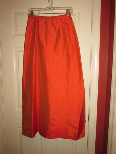 Orange Traditional Bridesmaid/Mob Dress Size 4 (S)