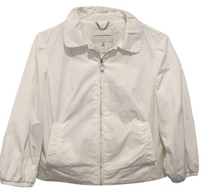 Banana Republic White Jacket
