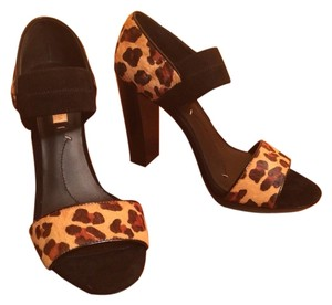 BCBGMAXAZRIA Ma-nadalya Leather Leopard Sandals