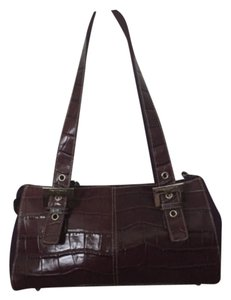 Franco Sarto Satchel in Eggplant (purple)