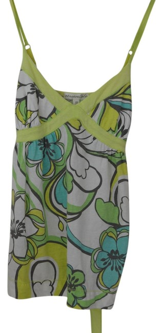 Preload https://img-static.tradesy.com/item/1043611/green-and-blue-floral-60s-retro-tank-topcami-size-4-s-0-0-650-650.jpg