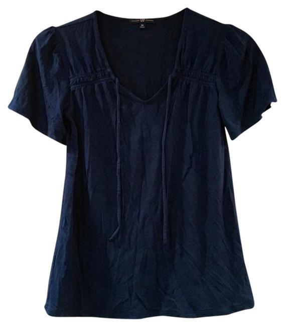 Preload https://item2.tradesy.com/images/gap-bright-blue-blouse-size-0-xs-1043636-0-2.jpg?width=400&height=650