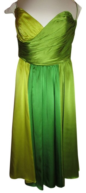 Preload https://item5.tradesy.com/images/betsey-johnson-green-ombre-knee-length-cocktail-dress-size-4-s-10436419-0-1.jpg?width=400&height=650