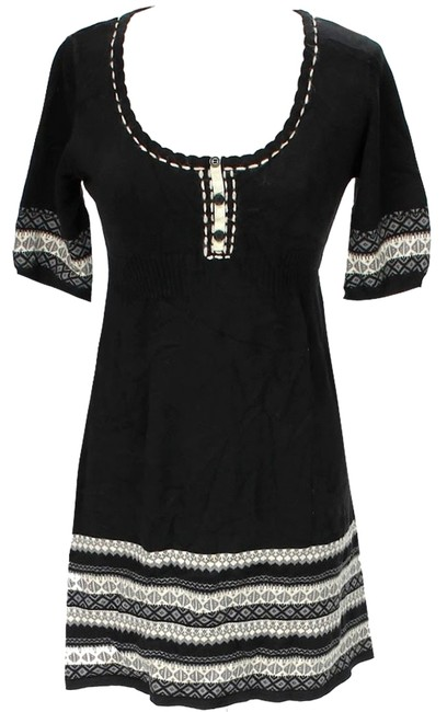 Preload https://item1.tradesy.com/images/nick-and-mo-black-grey-nordic-knit-above-knee-short-casual-dress-size-8-m-10436455-0-1.jpg?width=400&height=650