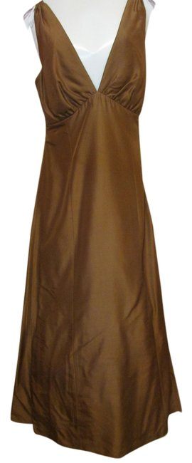 Preload https://item1.tradesy.com/images/jenny-yoo-brown-long-formal-dress-size-12-l-10436470-0-1.jpg?width=400&height=650