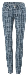 CAbi Skinny Pants Grid