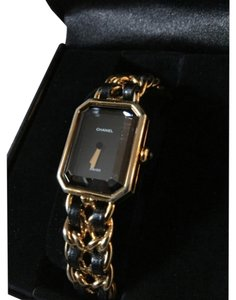 Chanel Vintage Chanel Premiere Watch Gold and Black
