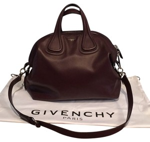 Givenchy Satchel in Oxblood