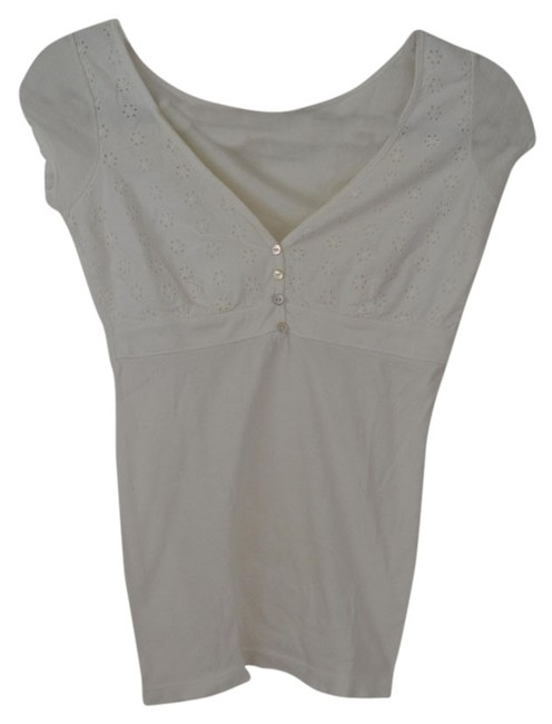 Other Eyelet Top White