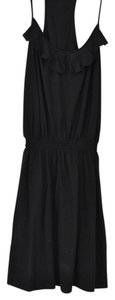 Express short dress Black Ruffled on Tradesy