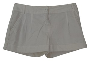 Express Mini/Short Shorts White