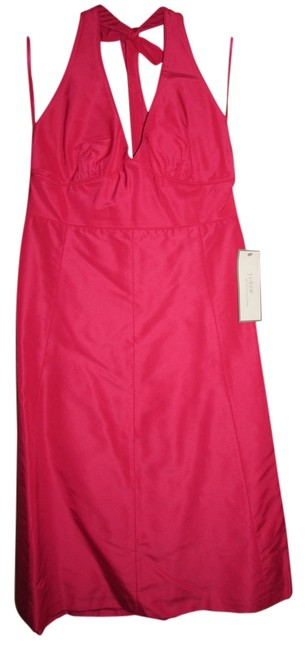 Preload https://item5.tradesy.com/images/jcrew-hot-pink-knee-length-cocktail-dress-size-12-l-10438009-0-2.jpg?width=400&height=650