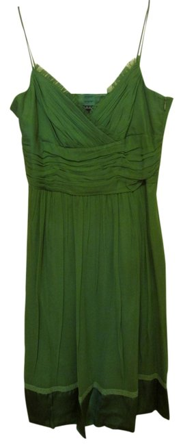 Preload https://item4.tradesy.com/images/laundry-by-shelli-segal-green-knee-length-cocktail-dress-size-12-l-10438078-0-1.jpg?width=400&height=650