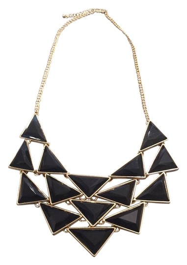 Preload https://img-static.tradesy.com/item/10438291/jewelry-unlimited-black-and-gold-necklace-0-1-540-540.jpg