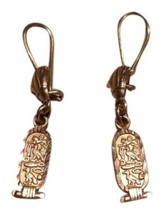 Gold-Plated Egyptian Earrings