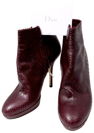 Preload https://img-static.tradesy.com/item/10438414/dior-red-christian-miss-amethyste-snake-skin-bootsbooties-size-us-85-regular-m-b-0-1-540-540.jpg